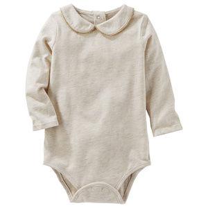 Oshkosh B'gosh Heather Long Sleeve Bodysuit Baby